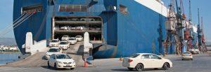 RO-RO Ocean Cargo Shipper