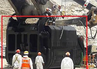 RTM Lines Mining Bucket